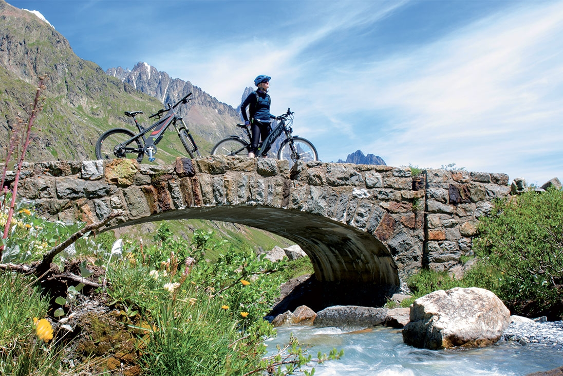 Ebike excursion in the Aosta Valley